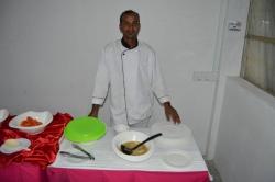 Dovolená na Maledivách - náš kuchař