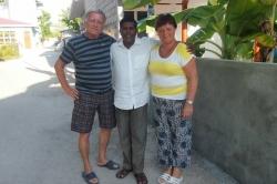 Dovolená na Maledivách - my na ostrově Huraa s Mustafou