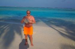 Jirka na pláži