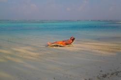 Jirka relaxuje na pláži