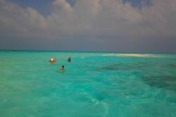 výlet na Maledivách