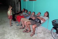 Dovolená na Maledivách - na tradičních sedátkách na ostrově Huraa