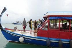 Dovolená na Maledivách - na maledivské lodi dhoni