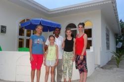 Dovolená na Maledivách - u guesthousu