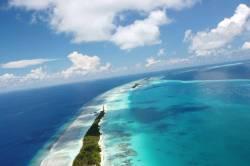 dron Maledivy Dhigurah