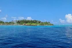 ostrov Maledivy