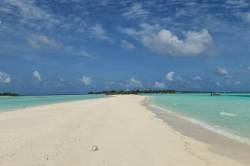 Maledivy-plaz