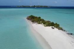 sandbank Maledivy