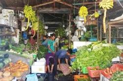 Maledivy ovocný trh v Male