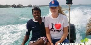 Maledivy, cestou na výlet