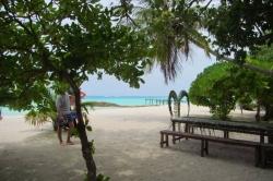 Pláž na výletě - ostrov Vilingili