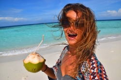 energie z čerstvého kokosu