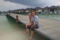 Kristýna a Olda v resortu