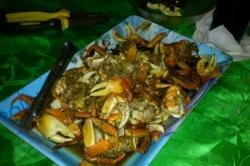 Maledivy - speciální grilovaná večeře