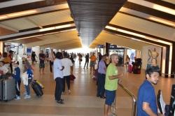 Letiště Maledivy - hala