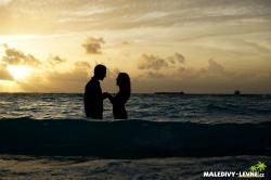 Maledivy svatba - romantika