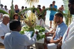 Maledivy svatba - novomanželský slib