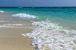 vlny na Maledivách