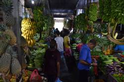 ovocný trh v Male Maledivy