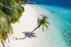 pláž ostrova Mandhoo