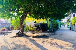 ostrov Gaafaru, Maledivy