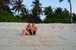 Martin a Kristýna na dovolené