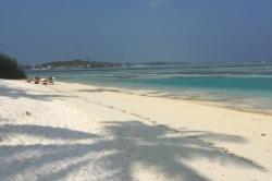 Bikini pláž na Huraa