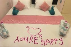 Připravená postel Huraa