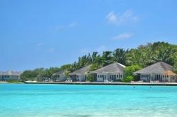 Domečky resortu Maledivy