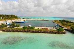 přístav Mathiveri Maledivy