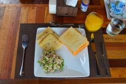 jídlo Maledivy