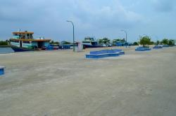 ostrov Mathiveri - přístav