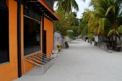 ostrov Mathiveri - ulice