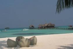 Maledivy, denní vstup do resortu Club Med Kani