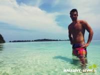 Michal na pláži