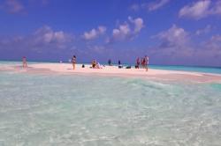 na výletě Maledivy