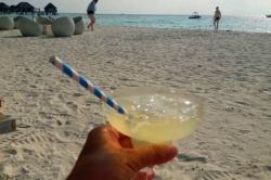 drink na pláži