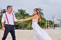 svatební fotka Maledivy