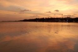 Západ slunce na Huraa