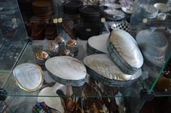 výrobky z mušlí