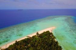 Omadhoo pláž, Maledivy