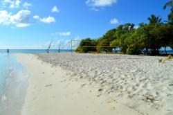 turistická pláž na ostrově Omadhoo