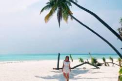 pláž ostrova Dhangethi