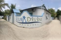Potápěčské centrum na ostrově Dhangethi