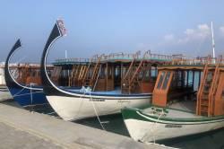 Přístav ostrova Dhangethi
