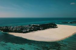 Maledivy ostrov Huraa