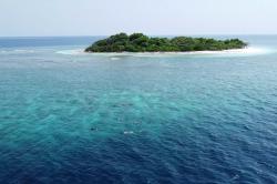 neobydlený ostrov