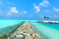 Peťan a Pája na Maledivách