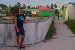 Martin na ostrově Huraa