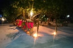 Večeře na Maledivách